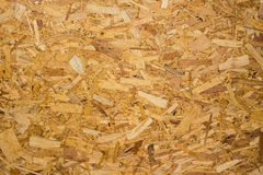 Recycled compressed plywood board Royalty Free Stock Image