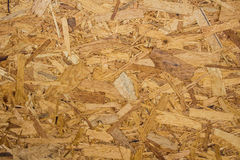 Recycled compressed plywood board Royalty Free Stock Images