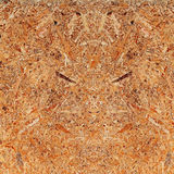 Recycled compressed wood chipboard. Royalty Free Stock Photo
