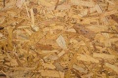 Recycled comprimió el tablero de la madera contrachapada Imágenes de archivo libres de regalías