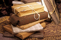 Recycled gifts Royalty Free Stock Photos