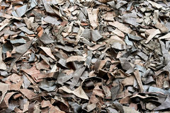 Recycled leather Royalty Free Stock Photography