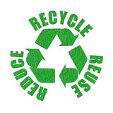 Recycled logo Stock Images