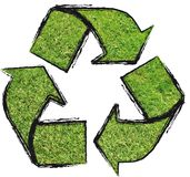 Recycled Logo. A green Recycled logo. Ecology vector illustration