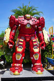 Recycled metal steel Robots theme park at Hua Hin Tique animal show : Iron Man model avenger Royalty Free Stock Image