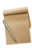 Recycled note pad Royalty Free Stock Photo