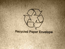 Recycled paper Stock Image