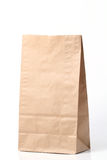 Recycled paper bag royalty free stock image