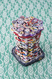 Recycled paper basket Royalty Free Stock Image