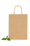 Recycled Paper Carrier Bag Royalty Free Stock Image
