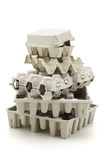 Recycled paper carton Royalty Free Stock Image