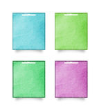 Recycled paper craft stick Royalty Free Stock Photo