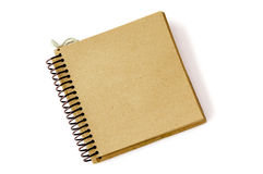Recycled paper note pad 2 Royalty Free Stock Photos