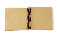 Recycled paper note pad royalty free stock photos