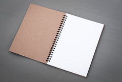 Recycled paper notebook Royalty Free Stock Image