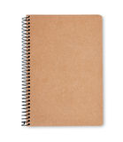 Recycled paper notebook Royalty Free Stock Photography