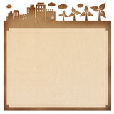 Recycled paper notepad. Stock Photography