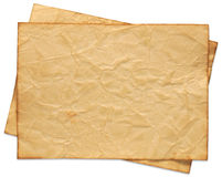 Recycled paper. Series Royalty Free Stock Photo