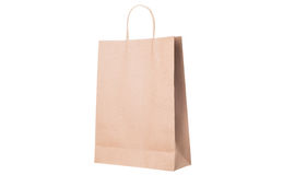 Recycled paper shopping bags Royalty Free Stock Images