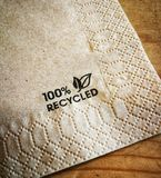 Recycled paper royalty free stock image