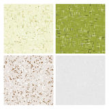Recycled Paper Textures. Seamless background vector illustration