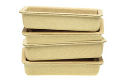 Recycled Paper Trays Stock Photos