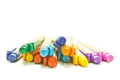 Recycled pens Stock Photos