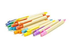 Recycled pens Royalty Free Stock Photo