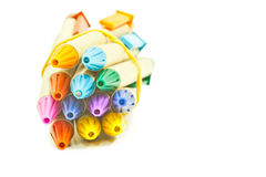 Recycled pens Stock Image
