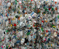 Recycled Plastic Royalty Free Stock Image