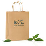 Recycled Shopping Bag Stock Photography
