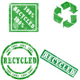 Recycled Stamp Royalty Free Stock Images