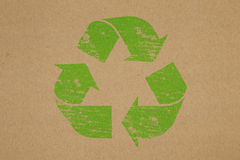 Recycled Symbol Royalty Free Stock Photography