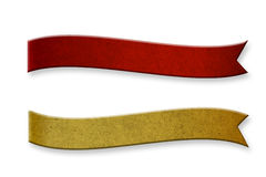 Recycled wood bending length two. On white Royalty Free Stock Photo