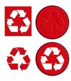 Recycleer 1 vector illustratie