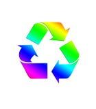 Recycleer 10 stock illustratie