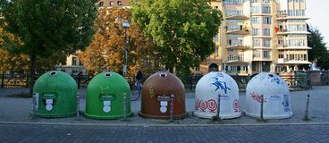 Recycleer Stock Afbeelding