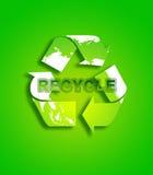 Recycleer 9 vector illustratie