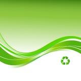 Recycleer achtergrond Royalty-vrije Stock Afbeelding