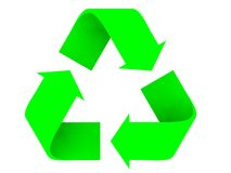 Recycleer alias Stock Foto's