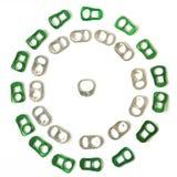 Recycleer aluminiumconcept Royalty-vrije Stock Foto's