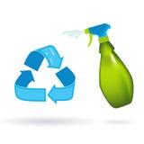 Recycleer & gebruik opnieuw Stock Afbeeldingen