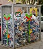 Recycleer bak stock afbeelding