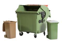 Recycleer bak Stock Foto's