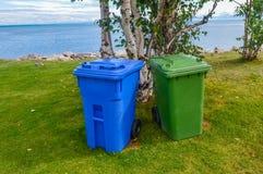 Recycleer bakken in Canada Royalty-vrije Stock Afbeeldingen