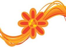 Recycleer bloem Stock Foto