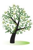 Recycleer boom Stock Afbeelding