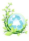 Recycleer concept stock illustratie