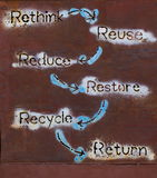 Recycleer concept Stock Afbeeldingen