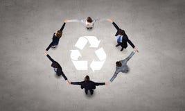 Recycleer concept Royalty-vrije Stock Foto's